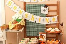 Party Themes   Picnics / Decorations, activities, favors and food inspiration for picnic parties!