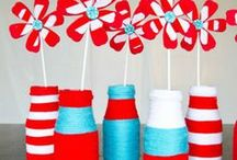 Party Themes   Dr. Suess / Decorations, activities, favors and food inspiration for Dr. Suess parties!