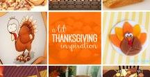 Holidays   Thanksgiving / Decorations, activities, favors and food inspiration for Turkey Day!