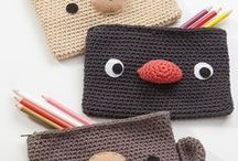 """Crochet Covers and Cases Inspiration / """"Once you start pulling loops through loops, why evah stop?"""" – Vashti Braha"""