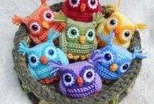 Crochet Owls Inspiration / by Annoo Crochet