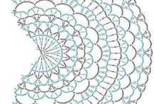 """Crochet Mandala Inspiration / Mandala is a Sanskrit word meaning """"circle"""". In the Buddhist and Hindu religious traditions their sacred art often takes this form. Mandalas have spiritual and ritual significance in both Buddhism and Hinduism."""