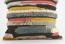 "Crochet Cushion Inspiration / ""Crochet gives me an inner peace that I treasure each and every day."" – Judith Ferrett"
