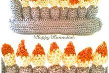 Hanukkah Decor/Crochet