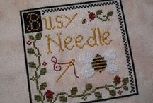 busy needle / by Tina Bucci