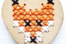 Cross stitch patterns and embroidery