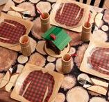 Party Themes   Lumberjacks / Rugged and woodsy ideas for a Lumberjack-themed event!