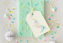 Gift Giving   Gift Wrapping Ideas / Easy and fun ways to wrap gifts!