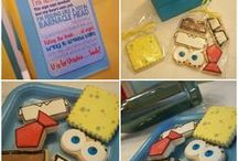 Party Themes   Spongebob Squarepants / Decorations, activities, favors and food inspiration for Spongebob Squarepants parties!