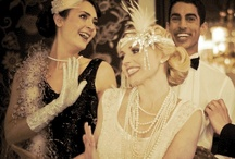 So Gatsby / My friends and I hosted a 1920s Prohibition Era styled party for New Year's Eve in 2012. Here are a few of the images I used to motivate us while we worked on styling the party.  / by Jerriann Sullivan