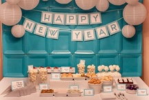Holidays   New Year's Eve / Decorations, activities, favors and food inspiration for New Year's Eve!