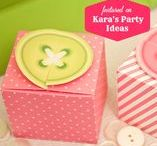 Party Themes   Sewing & Buttons / Decorations, activities, favors and food inspiration for sewing and cute as a button parties!