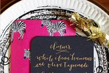Party Decorations   Placesettings / Ideas, tutorials and inspiration for placesettings at your next party!