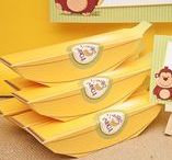 Party Themes   Monkeys & Bananas / Decorations, activities, favors and food inspiration for monkey and banana parties!