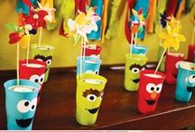 Party Themes   Sesame Street & Elmo / Decorations, activities, favors and food inspiration for Sesame Street and Elmo parties!