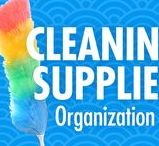 Cleaning Tips / Simplify your cleaning routine, with Alejandra Costello's cleaning supplies organization tips, best products, ideas, and videos. Her creative organizing solutions are so easy, quick, and simple, you don't even have to be a clean freak to appreciate them!