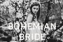 Bohemian Bride / A little inspiration for our Spring 2014 Bridal Collection