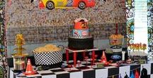 Party Themes   Race Cars, Racing & Nascar / Ideas for race car, NASCAR and video game racing parties!