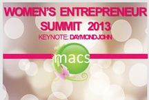 Women's Entrepreneur Summit / Register for our annual summit which is being held on Saturday, October 1, 2016! Learn more at www.macswomensummit.com  / by MACsWomen's Group