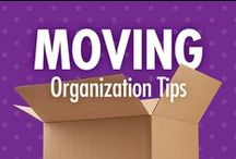 Moving Organization Tips / Whether down the street or across the country, moving and relocation can be stressful – and costly, if belongings are broken along the way. Thankfully, Alejandra Costello's moving organization tips, best products, ideas, and videos take the guesswork out of what can help make a move more successful, and less stressful! / by Alejandra Costello | Home Organizing Tips, Ideas, Videos, & Best Products