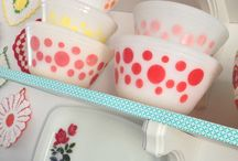 Fire King and Pyrex Dishes..oh so beautiful / by Cathy Holz