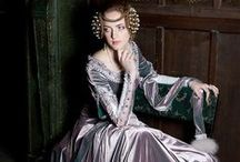 """Medieval dresses / Who am I kidding, this is really the """"fairy tale / olde tyme weddinge / beloved of pre-raphaelites dress"""" board"""