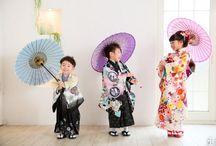 Kids' kimono