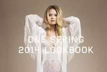 D&E SS14 Lookbook / Spring Summer Lingerie + Swim collection available at www.daisyandelizabeth.com