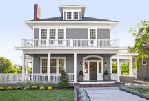 FIXER UPPER - Magnolia Homes / After images of remodels done by Chip and Joanna Gaines from HGTV's Fixer Upper / by Jen Van Dam