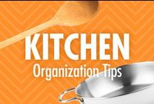 Kitchen Organization Tips / Cook up a clutter-free kitchen, with Alejandra Costello's kitchen organization tips! From the best kitchen organizers, to creative kitchen organizing ideas, tips, best products, and videos, consider these pins your key ingredients to whipping up calmer meal preps and in-home dining.    / by Alejandra Costello | Home Organizing Tips, Ideas, Videos, & Best Products
