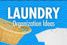 Laundry Organization Ideas / Do you dread folding laundry, or does your laundry room look like your washer and dryer barfed clothes all over the space? Alejandra Costello's laundry organization ideas, best products, tips, and videos can help you organize and do laundry in ways that you'll love!  / by Alejandra Costello | Home Organizing Tips, Ideas, Videos, & Best Products