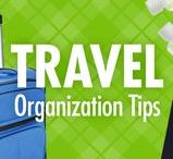 Travel Organization Tips / The last thing you want to pack for a trip is stress. Let Alejandra Costello's travel organization tips, videos, best travel organizers, and ideas help you have a first-class, less-stressed travel experience (often at an economy-class price)!