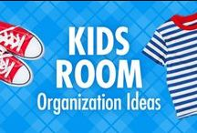 Kids Room Organization Ideas / No, we're not kid-ding: It really is possible to organize your children's room! Alejandra Costello's kids room organization ideas board is packed with pinnable toy organizing ideas, tips, best products, and videos that will help you keep the fun in the playroom, but lose the chaos when it's time for clean-up! / by Alejandra Costello | Home Organizing Tips, Ideas, Videos, & Best Products