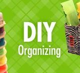 DIY Organizing / DIY organization doesn't have to be complicated. Let Alejandra Costello's creative, simple organization solutions and DIY organizing ideas, tips, videos, and best products help you debunk difficult DIY organization, and discover the simplicity and satisfaction of do-it-yourself projects.
