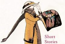 "Splendid Short Stories / ""Short stories are tiny windows into other worlds and other minds and other dreams. They are journeys you can make to the far side of the universe and still be back in time for dinner."" - Neil Gaiman"