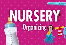 Nursery Organizing Ideas / Nursery organizing ideas, tips, and videos from home organizational expert Alejandra Costello