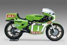 Classic road racing bikes