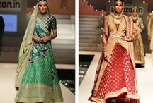Indian Bride / Ethnic Wedding Attire for Brides; Bridal Fashion from India and the House of Simaaya.