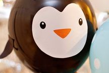 Party Themes   Penguin / Decorations, activities, favors and food inspiration for penguin parties!