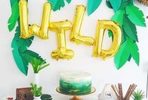 Party Themes   Zoo & Jungle / Decorations, activities, favors and food inspiration for zoo and jungle parties!