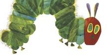 The Very Hungry Caterpillar / A much-loved classic, The Very Hungry Caterpillar has won over millions of readers with its vivid and colourful collage illustrations and its deceptively simple, hopeful story. It's also the perfect book to inspire your little ones to try creative activities at home or at nursery. Here are some of our favourite ideas…
