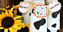 Party Themes   Farm & Barnyard / Decorations, activities, favors and food inspiration for farm and barnyard parties!