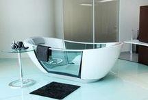 Beautiful Baths / by Julie Moye