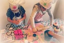 Baking Party / Baking birthday party ideas