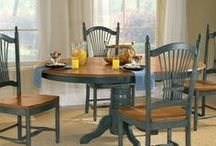 Dining Room Essentials  / Show off your best china with our selection of hutches and china closets, and entertain family and friends at any of our elegant wood dining tables.