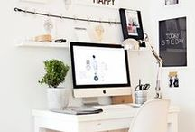 Home Office / Ideas for office/dressing room/makeup room