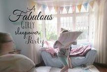 Sleepover Party / Sleepover/Pyjama Party ideas