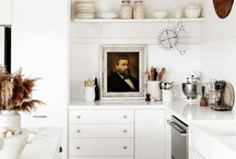 Kitchens and Dining Rooms / by Caroline Angle
