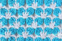 crochet stitches - stitch patterns / tutorials for stitches - stitch patterns and crochet techniques