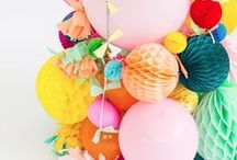 Partay Time / Pretty party DIYs